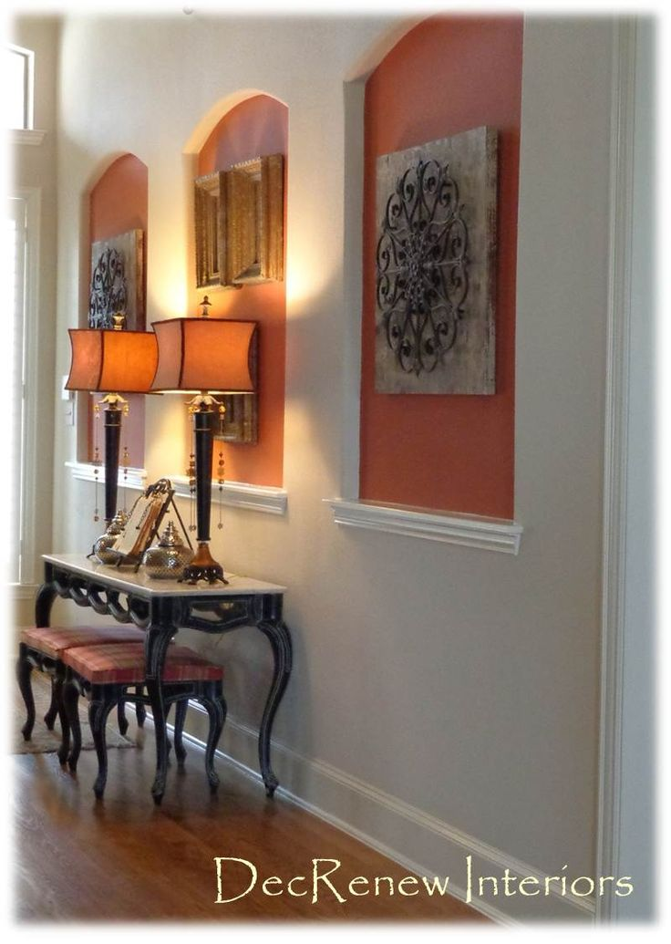 Idea for those niches in your home. DecRenew Interiors Blog