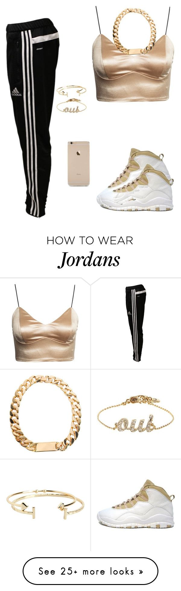 """""""Untitled #265"""" by destinygotem on Polyvore featuring Retrò, adidas, Juicy Couture, Aéropostale, women's clothing, women's fashion, women, female, woman and misses"""