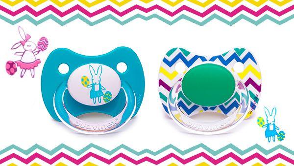 Celebra la Pascua con los nuevos chupetes Suavinex ¡diviértete con nuestros diseños! | El Club de las Madres Felices | El club de las madres felices
