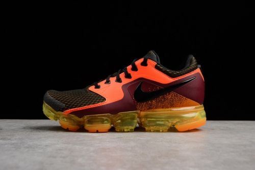 new concept 2dd12 0c6e1 Authentic Nike Air Vapormax Total Crimson Black Mens Running Shoes AH9046-800  - Nawomenshoes