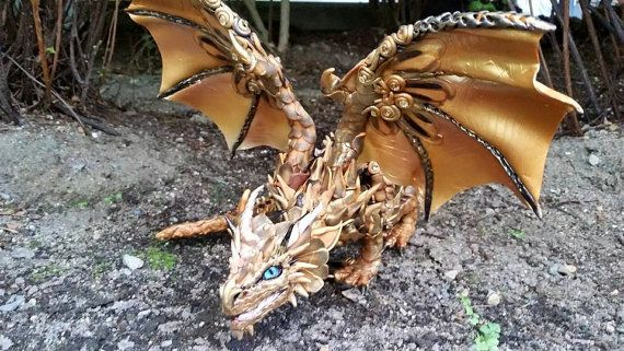Receiving Custom orders now! Process to make your dragon: 3 to 4 weeks depending the custom orders lined up. ----------- Please Read More About