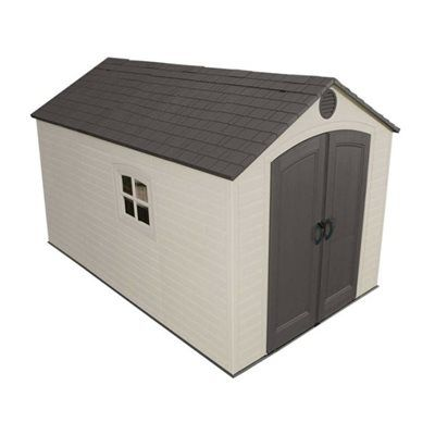 Lifetime Products 8-ft x 12.5-ft Resin Storage Shed