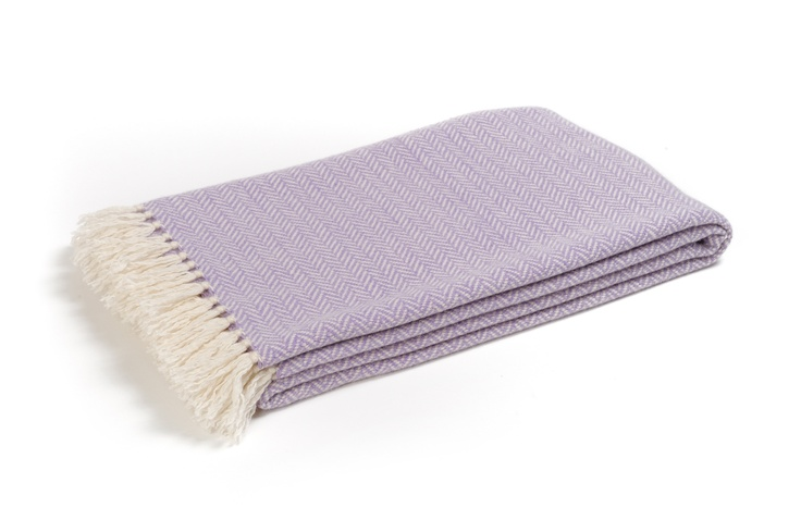 Buy ST. MORITZ LILAC #CASHMERE THROW online. Amancara, #luxury linens since 1952.