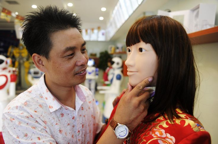 I Went to a Chinese Robot Shop to Witness the Coming of the Sex Dolls