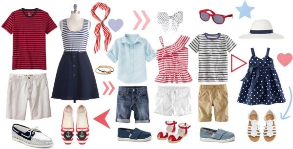 Summer Family Portrait Outfit Inspiration