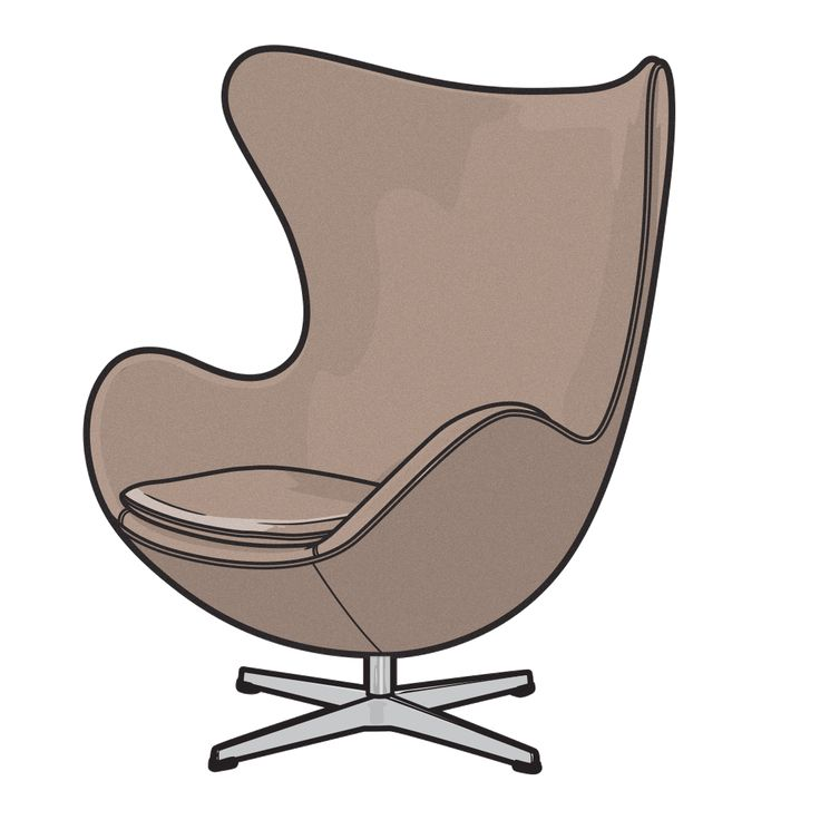 EGG CHAIR  Arne Jacobsen – 1958.