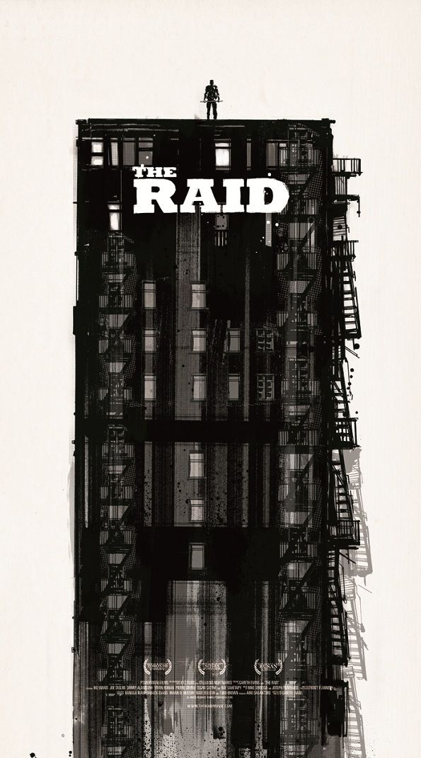 THE RAID's Mondo poster, via GeekTyrant. I love Mondo, and The Raid was entertaining. Not the best Mondo poster ever, but Indonesian movie. So.. *thumps chest*