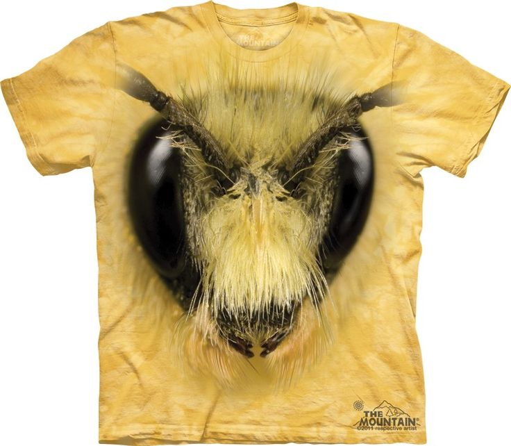 Bee Head Shirt by The Mountain @ Epic-Shirts.com - Available at website