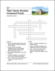 Worksheets Glencoe World Geography Worksheets 1000 images about history videos presentations etc on new seven wonders of the world printables wordsearch crossword puzzle and coloring sheets