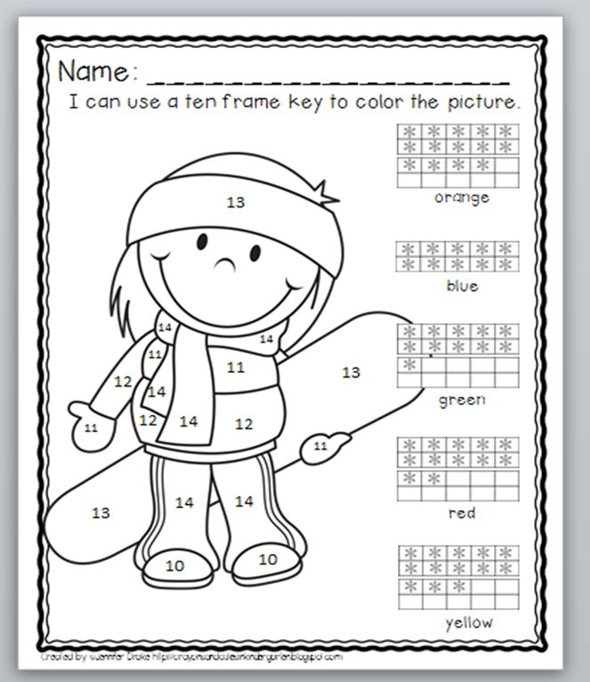 266 best Addition and Subtraction Basic Math Facts Color By Number ...