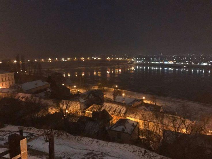 #Párkány #Sturovo #Duna #night #Bridge #Esztergom