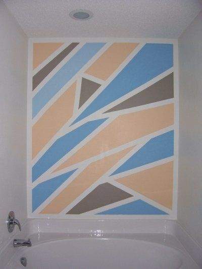 19 best images about wall designs on pinterest wall for How to paint a wall yourself
