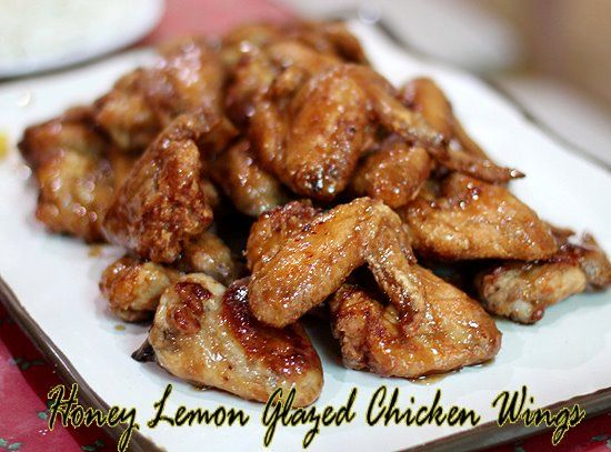 Honey-Lemon Glazed Chicken Wings | Chicken & Poultry Recipes | Pinter ...