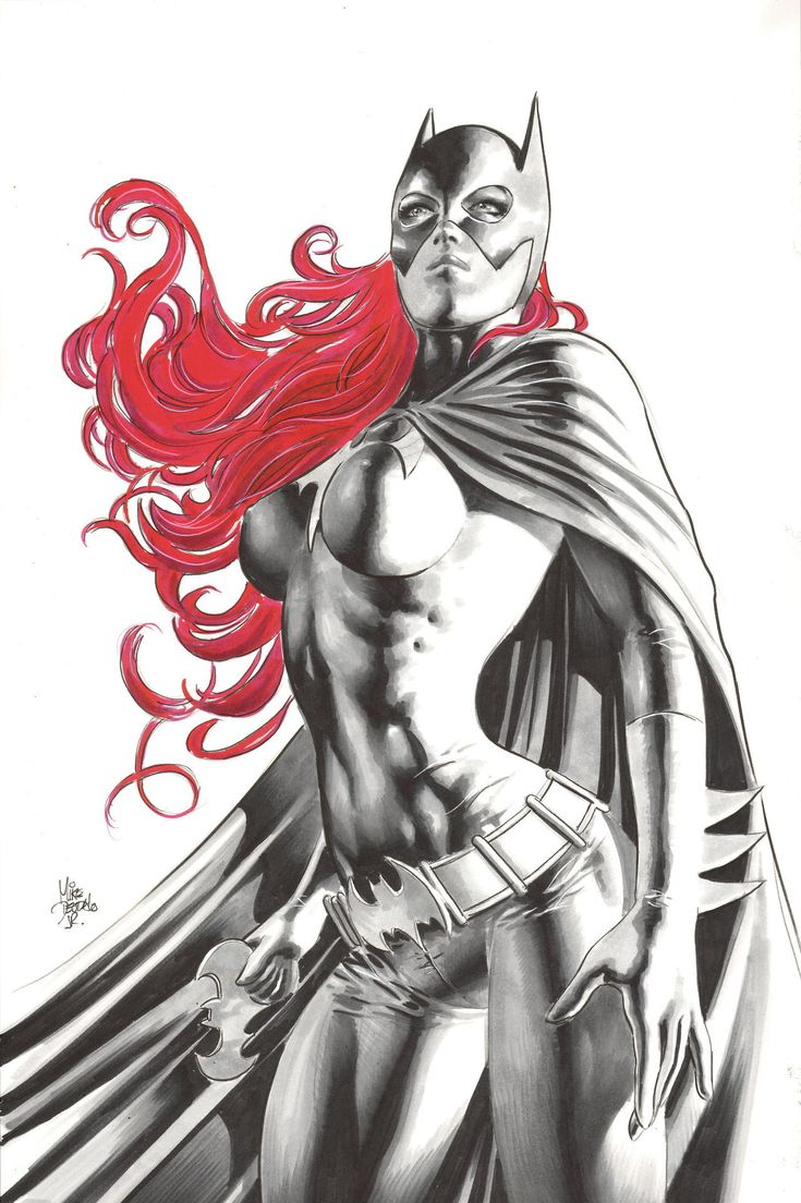 Batgirl by Mike Deodato Jr. *
