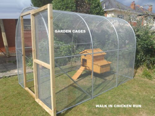 Chicken Run 2m X 4m Large Walk In Aviary Cattery Rabbit