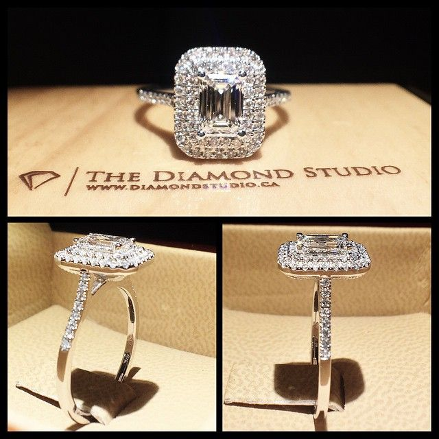 How incredible is the latest @diamondboi double halo design? This design was…
