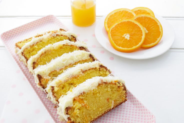 Easy Orange Cake with Orange Icing: Would it be irresponsible to eat a whole one of these?!