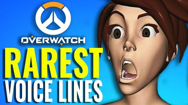 Rarest Voice Lines in Overwatch from Tracer, D.Va, Winston, McCree & More-Youtube- by Curse Entertainment