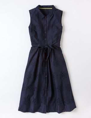 """For the 'midnight blue' Mulberry dress worn in the Solomon Islands Sept. 2012, this is Boden's """"Monte Carlo Dress' £55"""