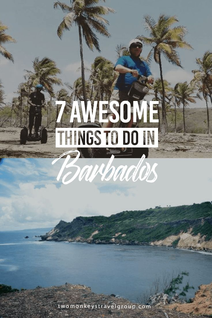 A definite must do on these tours is the East Coast side of this Caribbean island of Barbados. Here are 7 awesome things to do in Barbados.