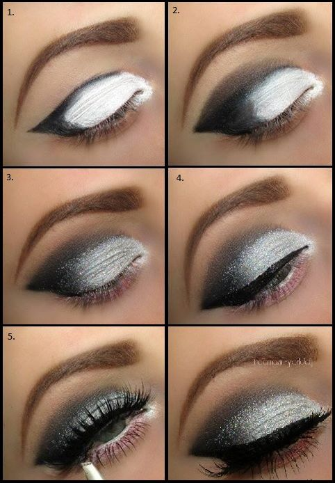 Beautiful Grey Smokey Eyes - DIY Tutorial