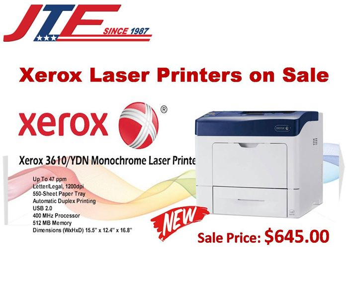 Print High Quantity Of Papers In Seconds With Xeroxlaserprinters
