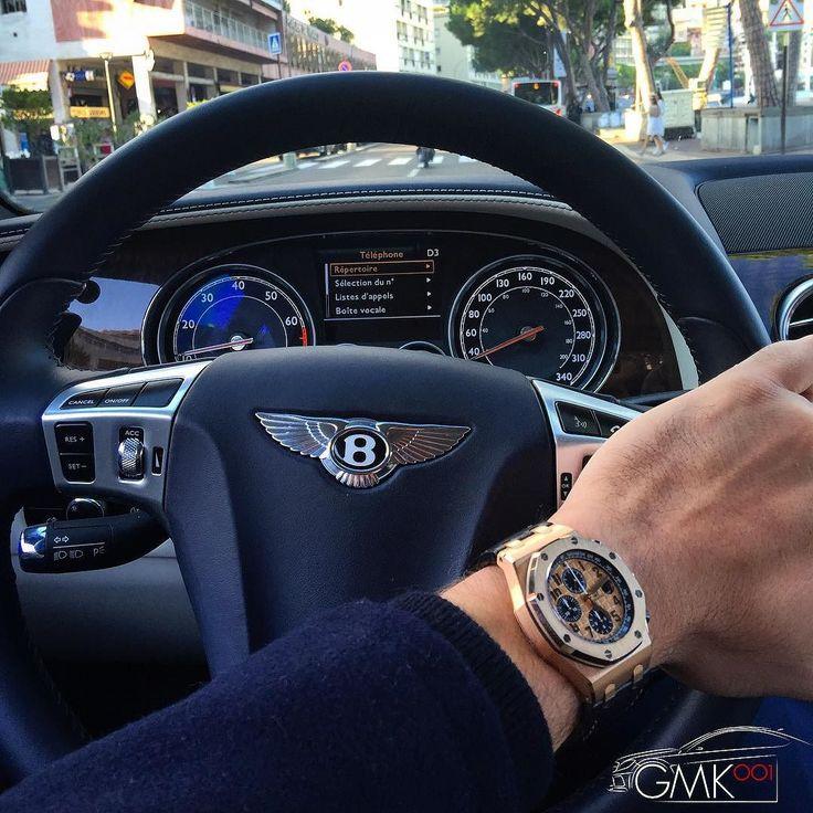 #PortHercule Driving the B, perfect weather ☀️ - Petit tour avec la Bentley, avec ce temps parfait  by gmk001 from #Montecarlo #Monaco
