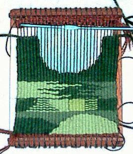 tapestry - weaving