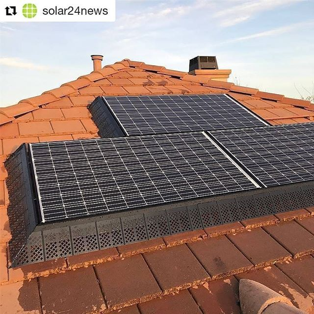 Repost Solar24news Pigeons Evicted These Solar Panels Had A Messy Family Of Pigeons Living Under Them But Not Any More Solar Panels Solar Residential Solar