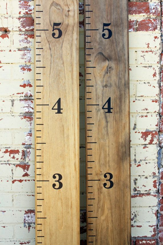 Growth chart ruler diy vinyl decal by littleacornsbyro on etsy kids pinterest growth chart ruler growth charts and etsy