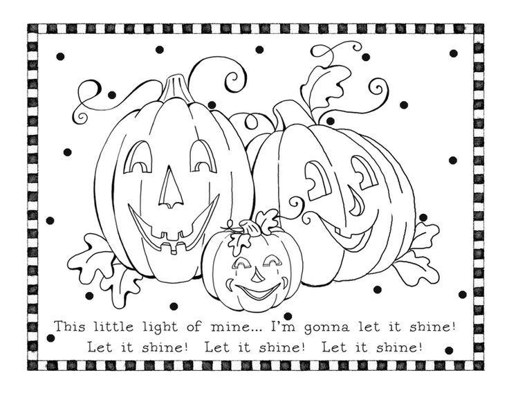 63 best Halloween images on Pinterest Activities, Fall crafts and - new fall coloring pages for church