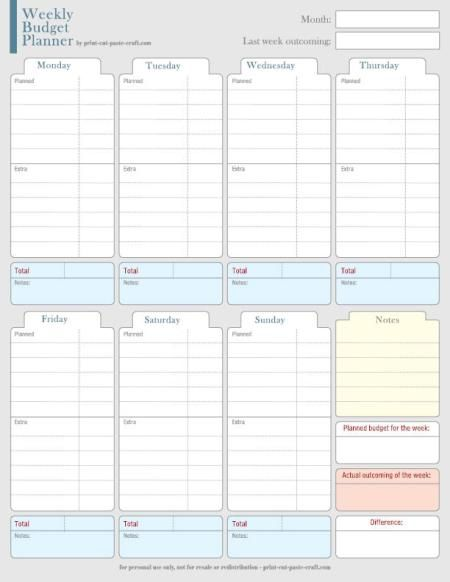 Sometimes I wonder: where did my money go this month?!  I'm sure it's a common issue. To help manage my expenses, I designed this planner. I collect all the the past weeks in a folder, …