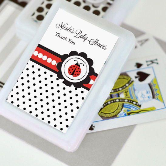 Ladybug Personalized Playing Cards Set of 24 Decks