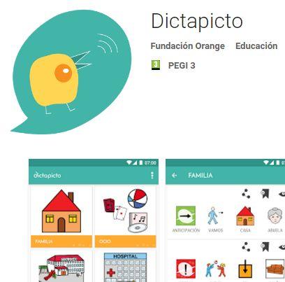 Dictapicto. Aplicación que transforma el lenguaje oral y pictos.