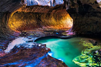 The Subway, Zion National Park--incredible!