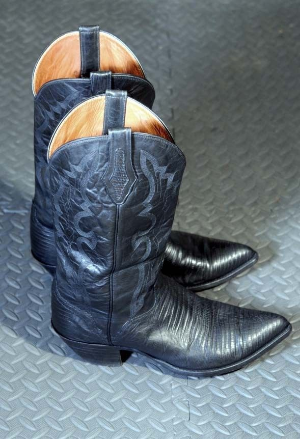 eb904b31b3f El Dorado mens lizard sharp toed cowboy boot 11D exclusively for ...