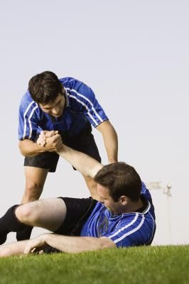 Playing Soccer With an Elbow Sprain - http://www.amazingfitnesstips.com/playing-soccer-with-an-elbow-sprain