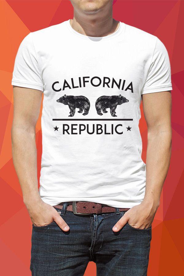 California Republic Guys Tee - https://www.sunfrog.com/136462488-987617478.html?68704
