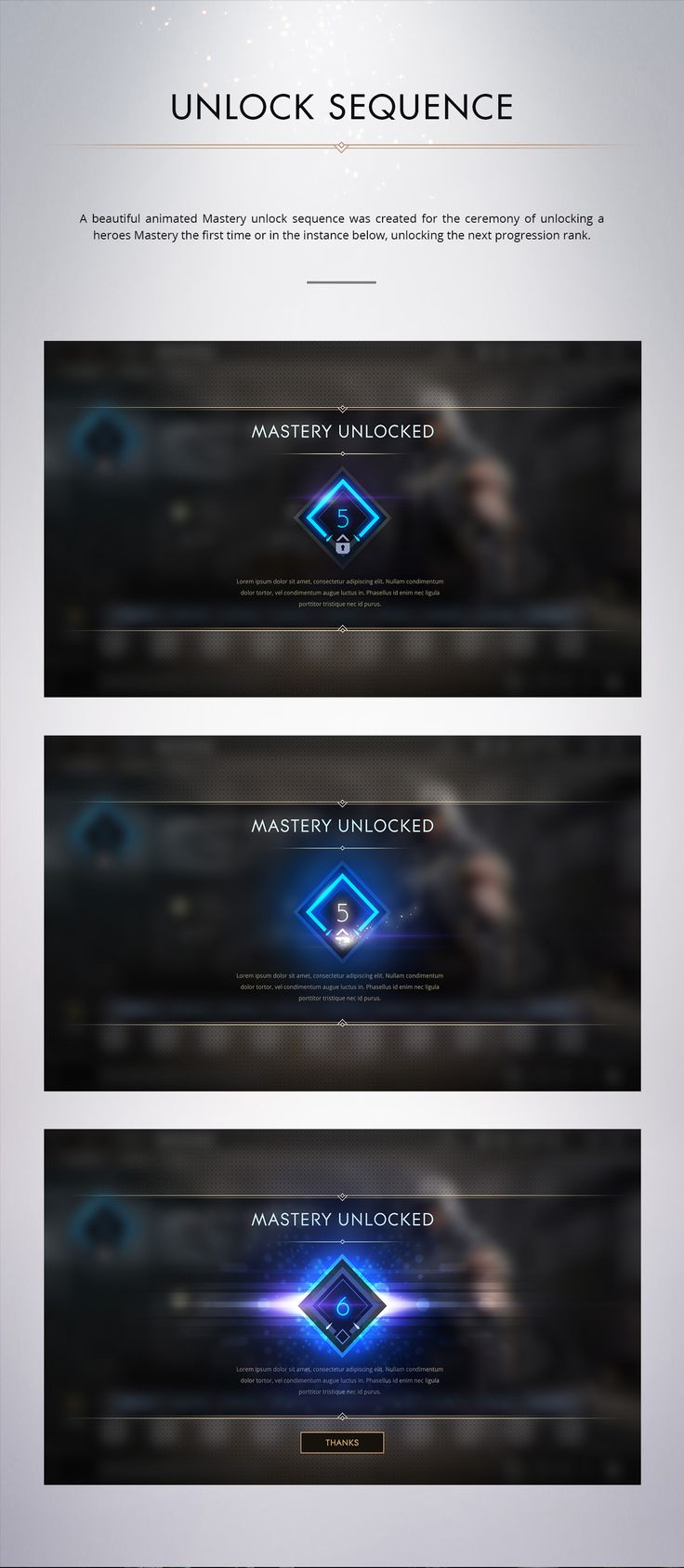 Paragon - Mastery System on Behance