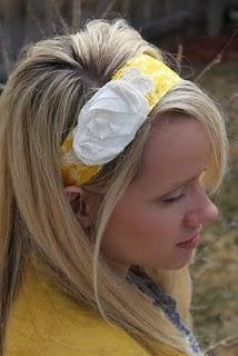Fabric Headband tutorial @ jujub blog.