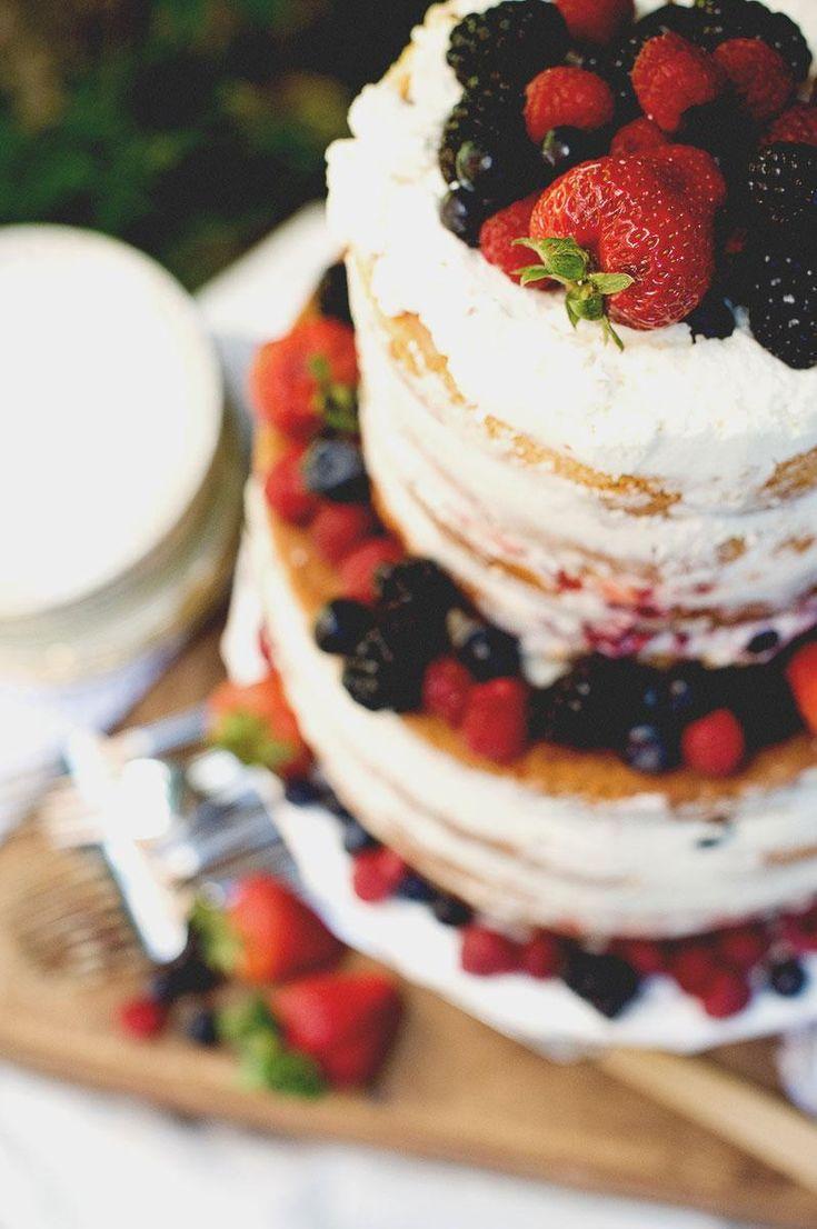 Lemon-Berry Wedding Cake   Natrel