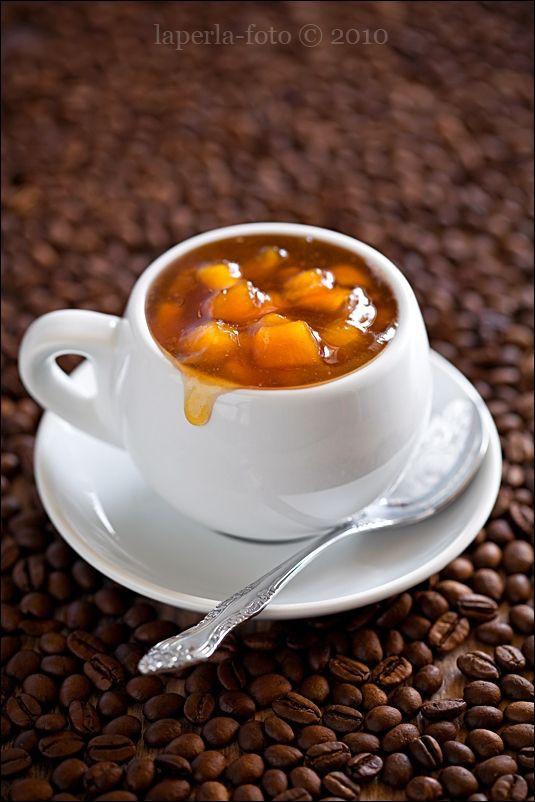 Джем из нектаринов с кофе Nectarine-Coffee Jam