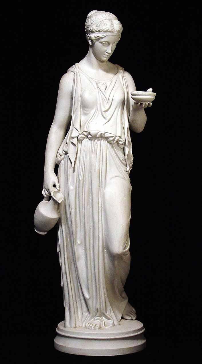 Greek Sculpture   PARIAN GREEK LADY, c. 19th century. Finely detailed classical Greek ... #SculptureArt