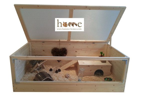 Super Large Guinea Pig Cage with Roof 120x60cm