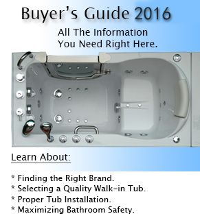Are you considering a walk in bathtub but concerned about the cost? Check out our walk in tub price guide here!