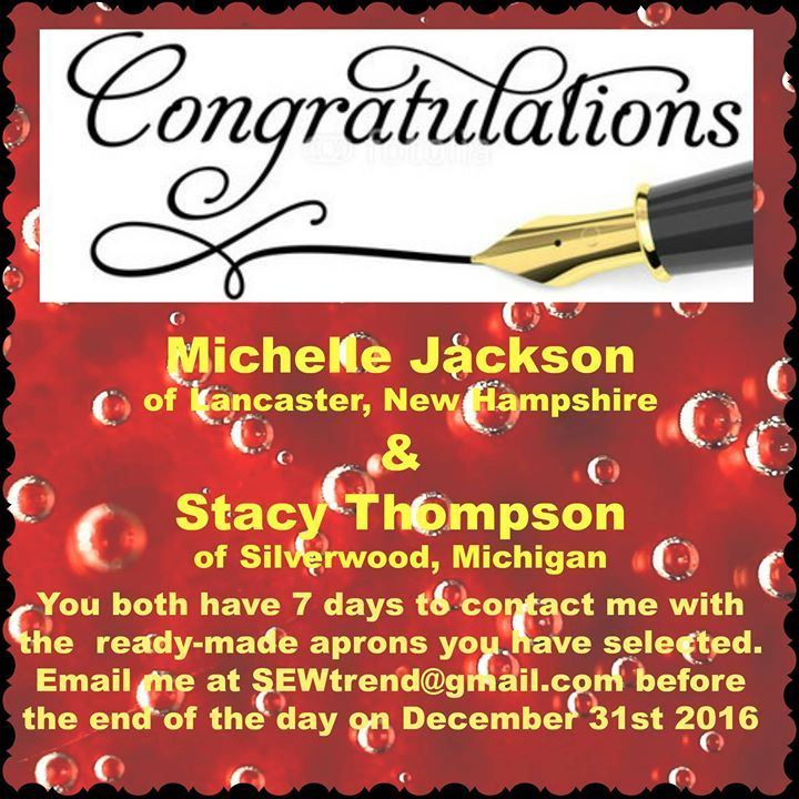 Lucky name  # 36 Michelle Jackson Lucky name # 37 Stacy Thompson
