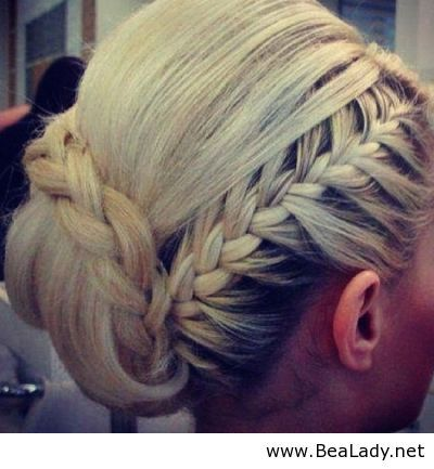 Prom Hairstyle for ladies