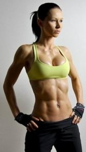 Zuzana Light (formerly of body rock tv) does these amazingly intense workouts that show why she looks so great. She now does  ZWOD (Zuzka's Workout Of the DAY) on YouTube. check her out. love her.