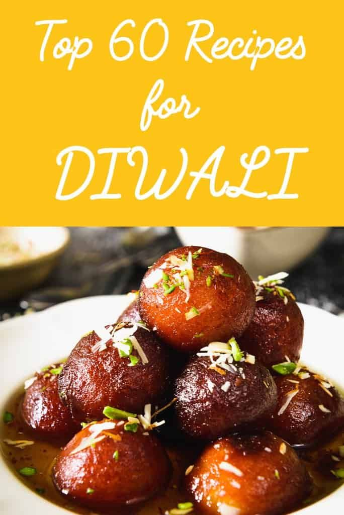 Recipes to make this Diwali compiled just for you. From sweets to snacks you would find everything here. Visit now and enjoy Diwali. Happy Diwali!
