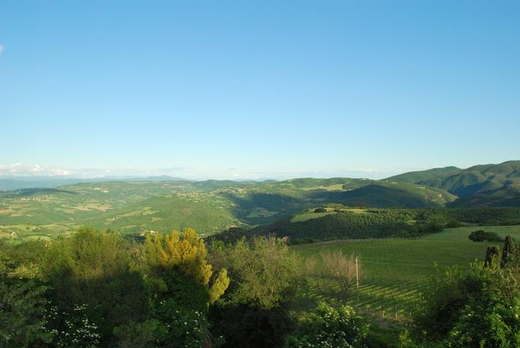 Orvieto, Corbara,Todi, Titignano...Magic green Umbria